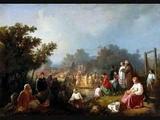 Ave Maria. Schubert. Janet Baker (with Russian art)