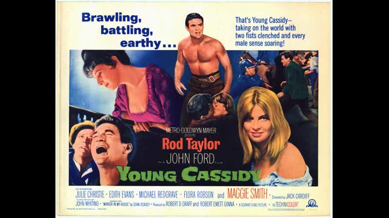 Young Cassidy (1965) Rod Taylor, Julie Christie, Maggie Smith