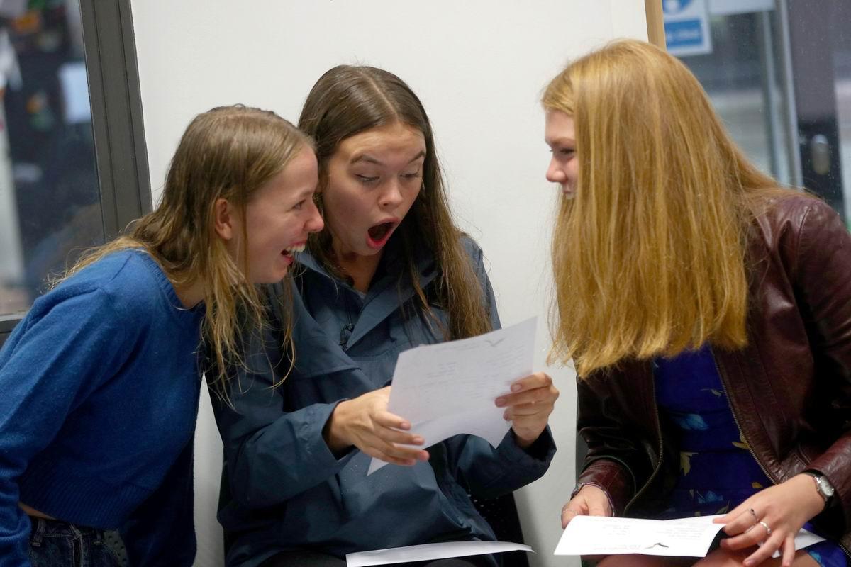 Я с них просто офигеваю!: Девичья реакция на результаты экзаменационного теста