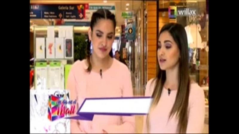Un dia en el Mall con Valeria Florez del 14 de Septiembre del 2018