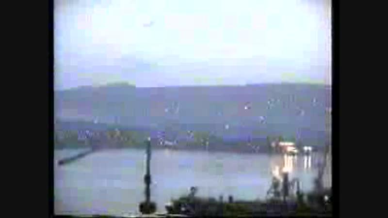 1.05.1996 НЛО с телепортацией на 605, центр Новороссийска, прямой эфир ТВ Заря