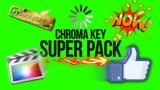 Chroma Key Super Pack - Green Screen Animation