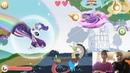 Серия 1 🦄🌸🌈 Игра про Пони Runners My Little Pony Радужные гонки ДЕДУШКА ПОВИДЛО