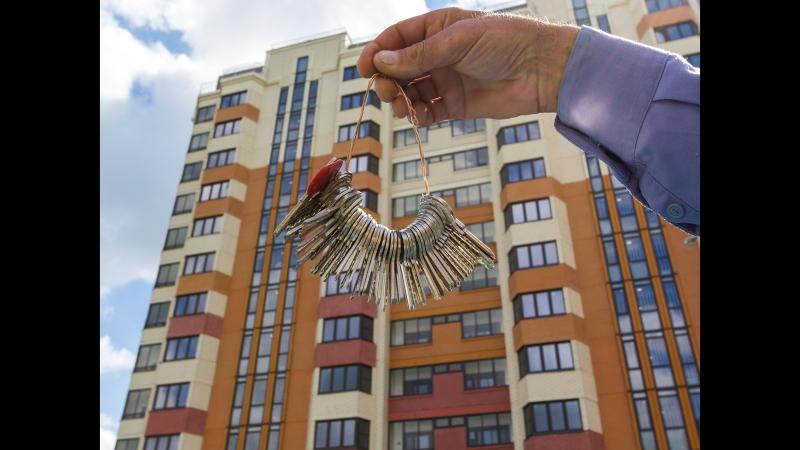 Реновация: новые дома для переселенцев на Изюмской улице