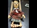 아크릴물감눈그리기ㅡ컨츄리인형Country Doll 컨츄리소녀 26