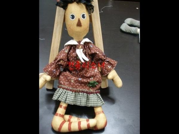 아크릴물감눈그리기ㅡ컨츄리인형Country Doll(컨츄리소녀)26