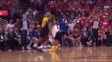 Chris Paul trolling Steph Curry - Game 5 - lead 3-2 Houston.
