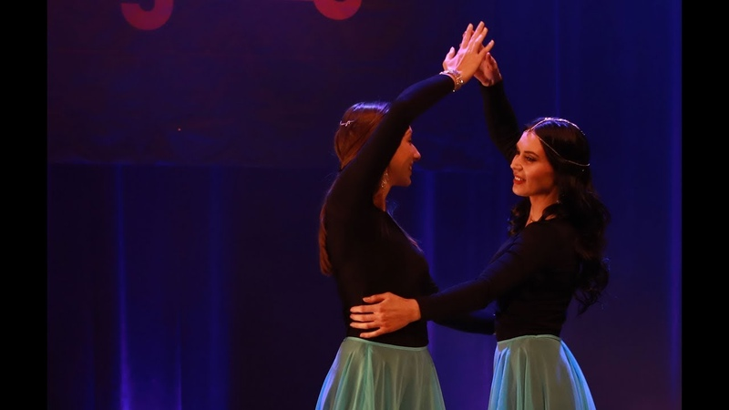 Zabze Zar | Persian dance with Agnes' dance students at Layali, Sweden 2017