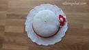 Crochet summer hat tutorial Móc nón rộng vành