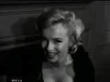 Footage of Marilyn Monroe in NYC, 1956 + Radio Interview, 1955