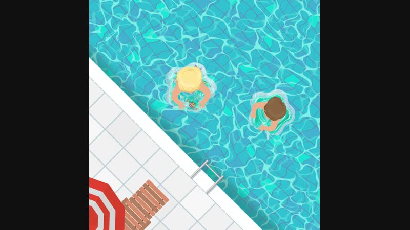 Новинка! Круг для плавания