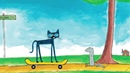 PETE THE CAT His Magic Sunglasses Book Trailer The Sun is Shining!