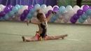 Классное выступление юной гимнастки Ребенко Николь 4 года