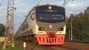 Электропоезд ЭД4МКУ-0151 ЦППК с приветливой бригадой:-)