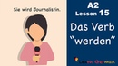 Learn German Indirekte Fragesätze ob German for beginners A2 Lesson 16