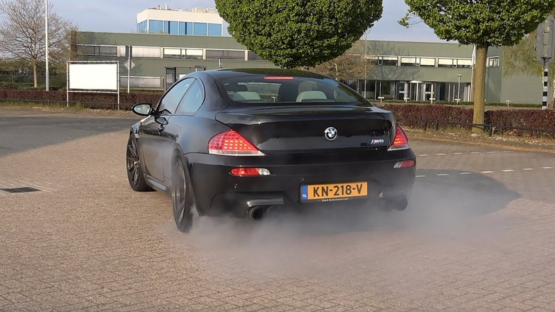 BMW M6 V10 - CRAZY BURNOUTS, ACCELERATIONS EPIC V10 SOUNDS!