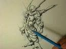 Riven Phoenix The Sketch Book 11 The Character Design Studio 1