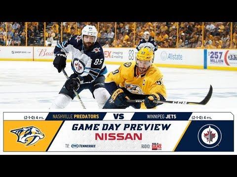 NHL 19 PS4. REGULAR SEASON 2018-2019 Winnipeg JETS VS Nashville PREDATORS. 10.11.2018. (NBCSN) !
