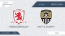 AFL18 England Championship Day 31 Middlesbrough Nott's County