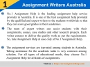 Assignment Writers Australia provides by