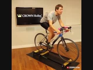 Система, позволяющая превратить любой велосипед в велотренажер