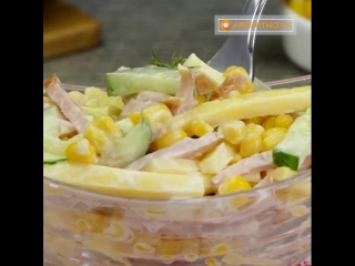 Рейтинг - Три самых вкусных и быстрых салата с кукурузой!