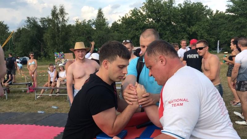 Фестиваль спорта и здорового образа жизни Росич-2018 Армрестлинг 04.08.2018