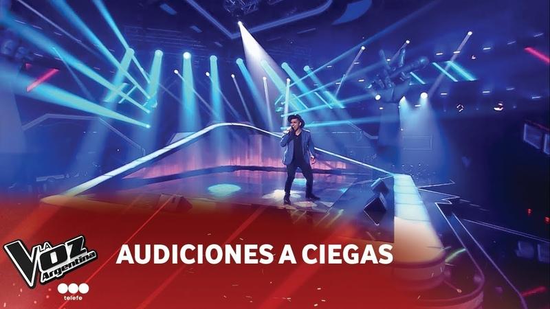 M. Mercado - Hoy tengo ganas de tí - Miguel Gallardo - Audiciones a ciegas - La Voz Argentina 2018