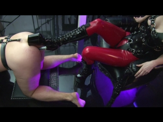 Mistress blackdiamoond - boot fuck and piss [fetish, latex, golden shower, anal, 1080p]