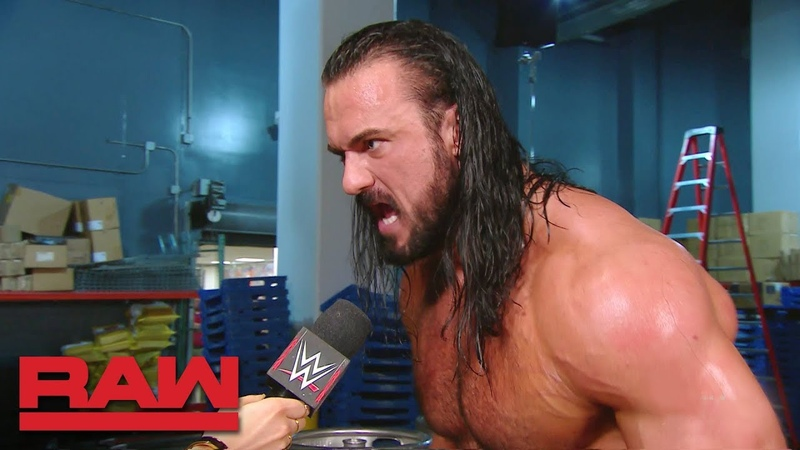 Drew McIntyre vows vengeance against Dolph Ziggler and Finn Bálor Raw, Dec. 3, 2018