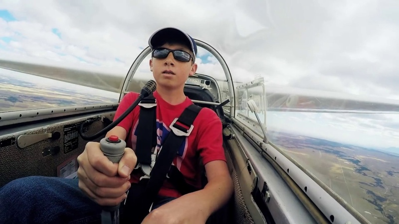 14 Year Old First Glider Solo