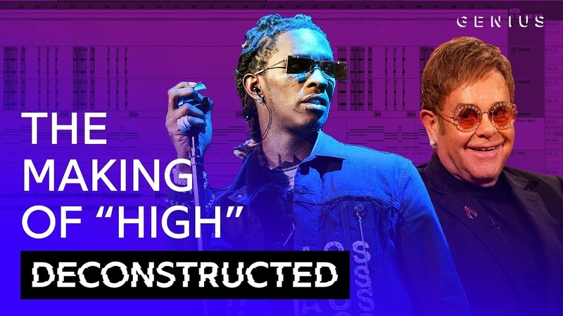 The Making Of Young Thug Elton Johns High With Stelios | Deconstructed