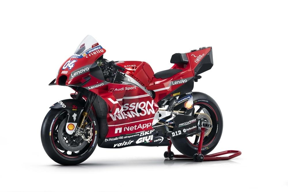 Презентация Ducati Desmosedici GP19