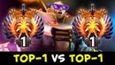 TOP-1 vs TOP-1 Invokers battle — Miracle vs InYourDream
