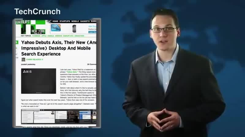 Yahoo Debuts Axis Browser