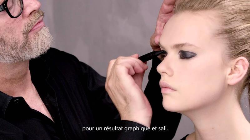 Découvrez le Look Black Smudge avec shaper par YSL Beauté