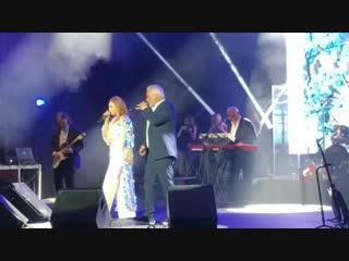 Альбина Джанабаева и Валерий Меладзе спели дуэтом