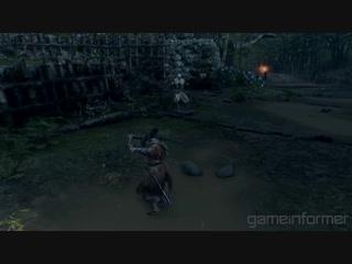 Эксклюзивный геймплей Sekiro: Shadows Die Twice