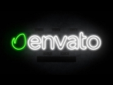 After Effects intro template | Neon Logo