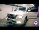 Автоматическая тонировка Toyota LC 200 от @AzizService_nsk_54