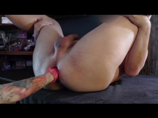 Lady jane urethral sounding - double fisting huge  cum