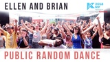 KCON 2018 NY Public K-pop Random Dance (500+ PEOPLE!) Ellen and Brian
