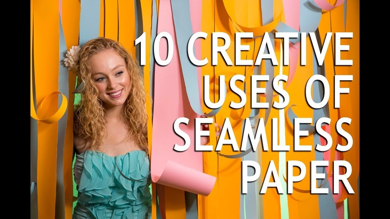 10 Creative Uses of Seamless Paper