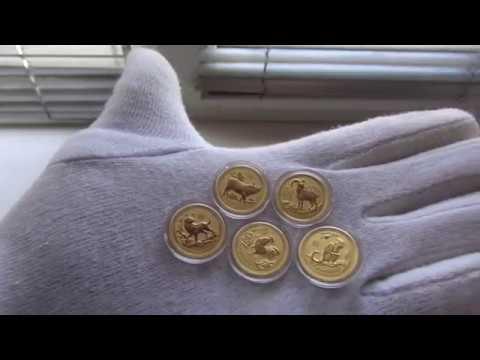 Gold lunar 3.1 гр. 1/10 oz