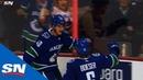 Elias Pettersson Breaks Away Beats Devan Dubnyk With Beautiful Wrist Shot