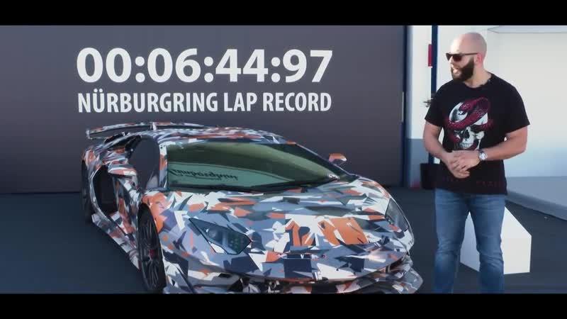 DSC OFF Разгон PORSCHE 911 TURBO S 800 л.с. Porsche. Lamborghini Aventador SVJ