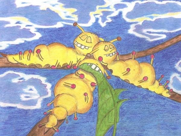 Tausend kleine gelbe Raupen (Kinderlied, Original 2008)