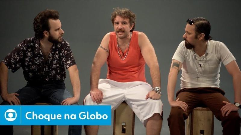 CHOQUE NA GLOBO 1 Era do Gelo 4 e Márcio Garcia