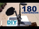 DIY- 180 Conversion - Hobie Mirage Drive - HOW TO - step by step
