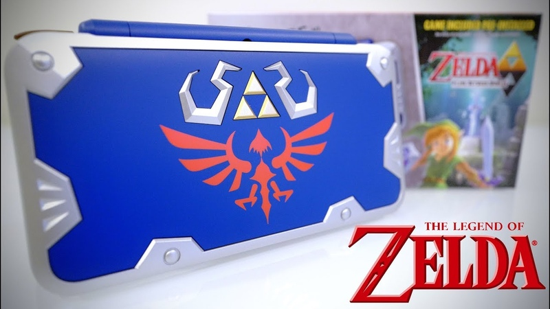 HANDS ON! NEW Nintendo 2DS XL [HYLIAN SHIELD EDITION]